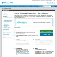 Barclays Stockbrokers Online Share Dealing Account image