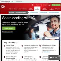 IG Share Dealing image